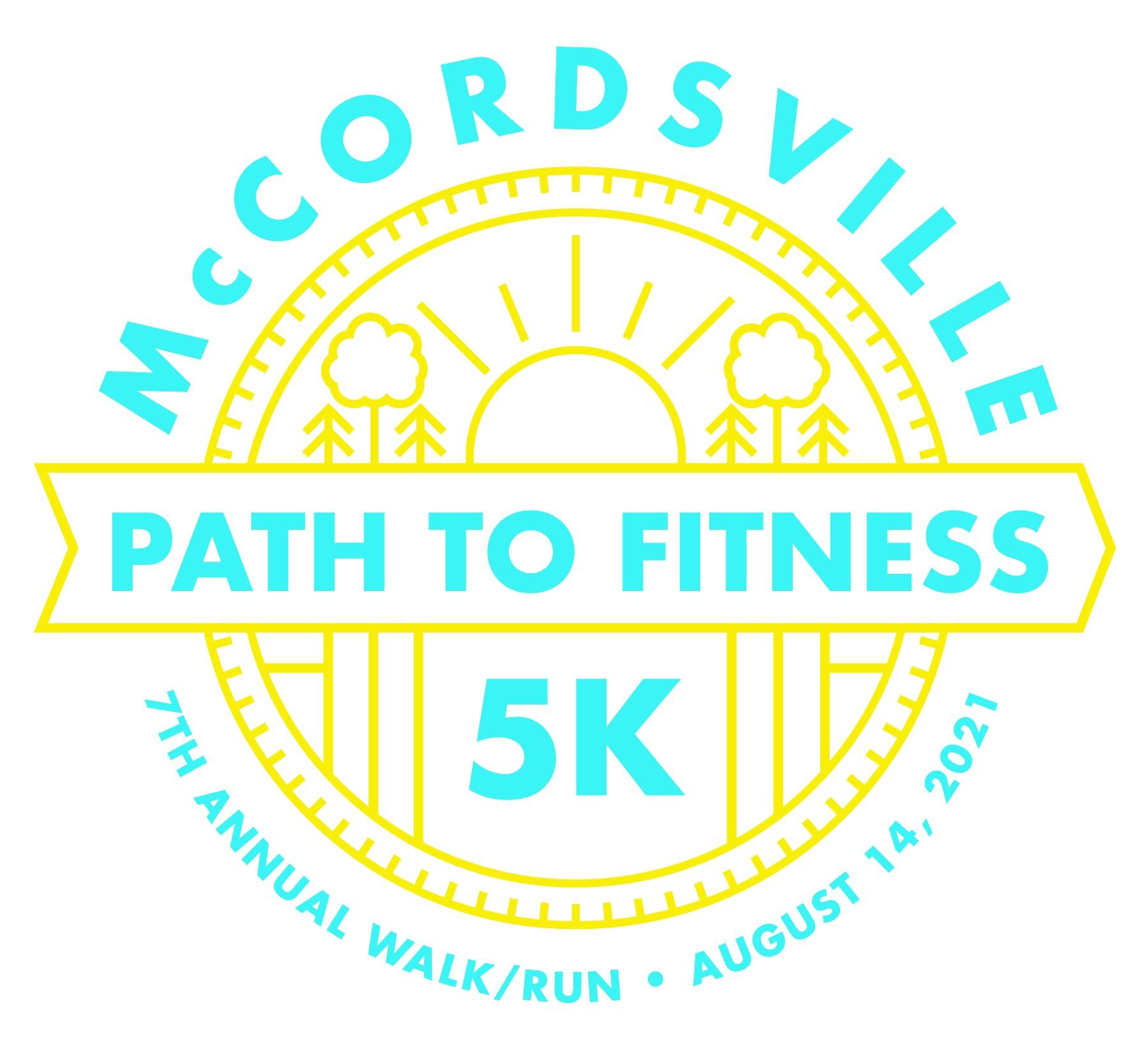 McCordsville Path to Fitness 5K registration form